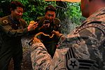 US, Japanese Airmen conduct survival training during Cope North 16 160216-F-CH060-008.jpg