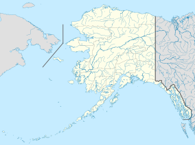 Map showing the location of Tongass National Forest