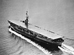 USS Cape Gloucester (CVE-109) off Vasmon Island in March 1945.jpg