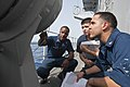 USS Cape St. George sailors at work 120712-N-VY256-156.jpg