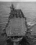 USS Enterprise (CV-6) underway towards the Panama Canal on 10 October 1945 (80-G-701166).jpg