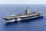 USS Harry S. Truman (CVN-75) underway in the Atlantic Ocean in June 2015.JPG