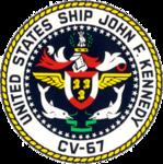 USS John F. Kennedy CV-67 Crest.png