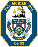 USS Mobile Bay CG-53 Crest