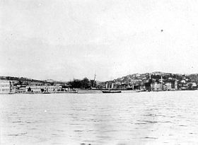 USS Noma off Istanbul Turkey 1920