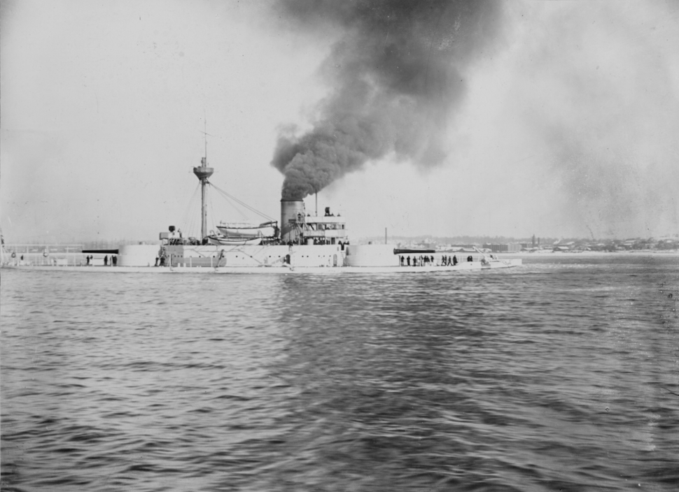 USS Puritan (BM-1) - NH 60696