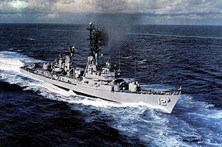 USS <i>Robison</i> Charles F. Adams-class destroyer