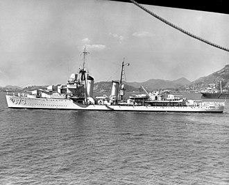 USS Shaw (DD-373) - Image: USS Shaw (DD 373) September 1938