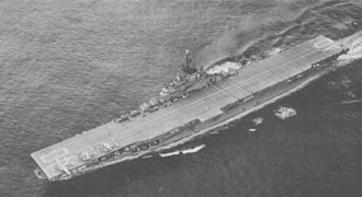 USS Tarawa (CV-40) - USS Tarawa during Operation Argus in 1958
