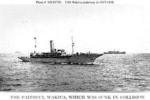 USS Wakiva (SP-160) convoy