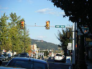 West Reading, Pennsylvania - Penn Avenue in West Reading