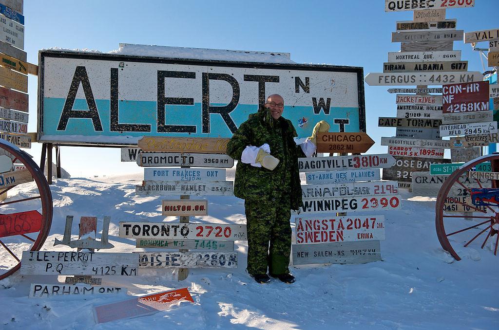 US Ambassador visits Alert, Nunavut
