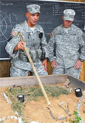 Sand table - Image: US Army 53265 2LTs complete Leader Forge