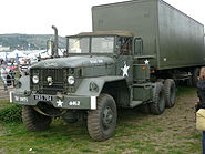 US Army articulated truck - Flickr - Terry Wha