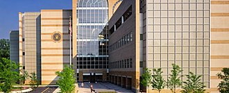 United States District Court for the District of Maryland - View of US District Court for Maryland, Southern Division, in Greenbelt, Maryland.