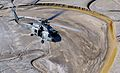 US Navy 030805-F-4884R-005 An SH-60F Seahawk from Helicopter Anti-Submarine Squadron Two (HS-2), returns to base after a mission during exercise Desert Rescue XI, at Naval Air Station Fallon.jpg