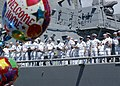 US Navy 050908-N-3019M-003 Sailors man the rails aboard the guided missile destroyer USS Paul Hamilton (DDG 60) as they return to Pearl Harbor.jpg