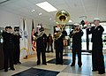 US Navy 061202-N-7427G-002 The New Orleans Navy Band performs a mini-concert aboard Naval Air Station Joint Reserve Base during their annual Caroling Around the Region Tour.jpg