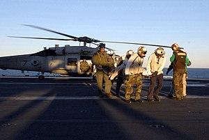 Carrier Strike Group 7 - MEDEVAC (15 December 2007)