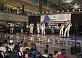 US Navy 101016-N-6770T-122 The U.S. 7th Fleet Band, Orient Express, performs during a joint performance with the Philippine Navy Band.jpg