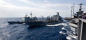 US Navy 120203-N-OY799-182 U.S. Navy ships are alongside each other during a fueling at sea.jpg