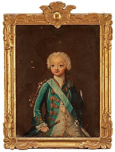 Gustav III som barn