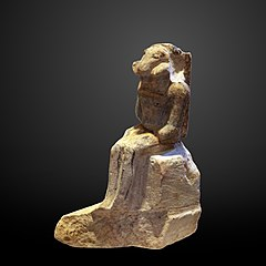 Unfinished statue of Khnum-AF 10037