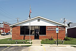 United States Post Office, Milledgeville Illinois 61051 (7580445182).jpg