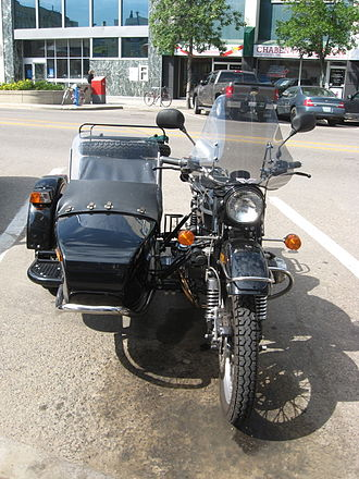IMZ-Ural - Front view