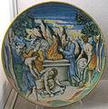 Urbino, bottega dei fontana, scena di sacrificio, xvi sec.JPG