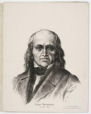Julian Ursyn Niemcewicz - Niemcewicz, by Barwicki.