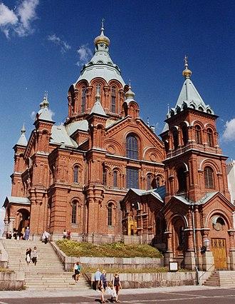 Katajanokka - Uspenski Cathedral