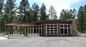 Utah Parks Company Service Station - Image: Utah Parks Company Service Station