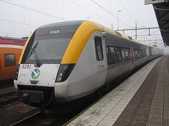 Regina (train) - Image: Västtrafik X50