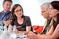 V.l.n.r.- Joachim Fritz-Vannahme, Christine Pütz, Ulrich K. Preuß, Annalena Baerbock (7294622984).jpg
