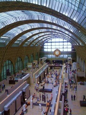 Gae Aulenti - The main gallery of Musée d'Orsay