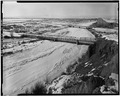 VIEW LOOKING NORTHWEST TOWARD WEST WEB - Shoshone River Bridge, County Road 111, Lovell, Big Horn County, WY HAER WYO,2-LOVE.V,1-3.tif