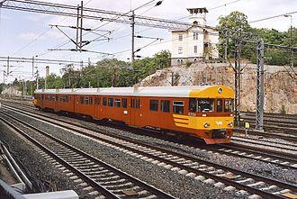 Helsinki commuter rail - Image: VR 6256 Hel