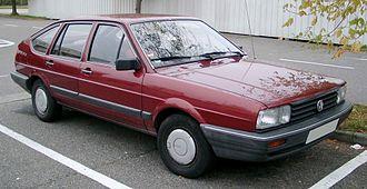 Volkswagen Passat (B2) - Image: VW Passat B2 front 20081007