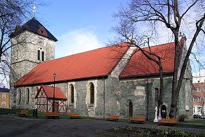 Vår Frue Church - Image: Vaar Frue kirke Trondheim SE