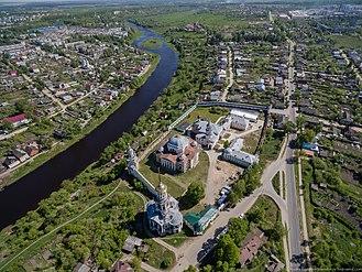 Torzhok - Aerial view of Torzhok
