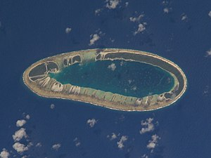Vahitahi - NASA picture of Vahitahi Atoll