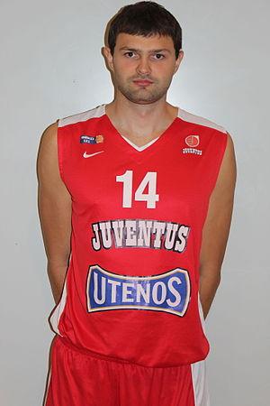Vaidas Čepukaitis - Čepukaitis with Juventus Utena in 2014