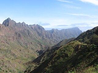 Ribeira Grande (stream) river in Cape Verde