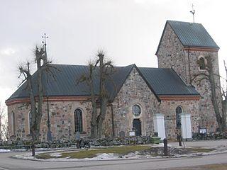 Vallentuna Place in Uppland, Sweden
