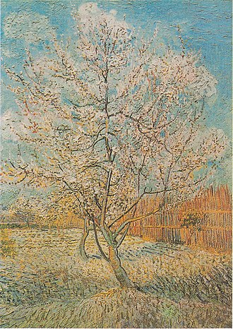 Flowering Orchards - Image: Van Gogh Blühender Pfirsichbaum 1
