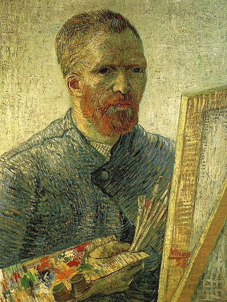 File:Van Gogh self portrait as an artist.jpg