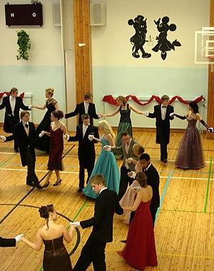 Vanhojentanssit - Vanhojentanssit in the Lycée franco-finlandais d'Helsinki, a Franco-Finnish school in Helsinki