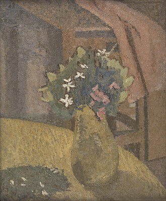 Gwen John - Vase of Flowers (ca. 1910s)