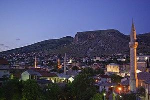 Velež (Bosnia and Herzegovina) - Foot of Velež in Mostar